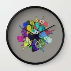 Pinion Efforvescent Wall Clock