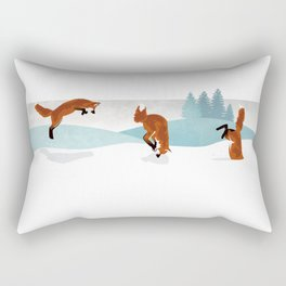 Fox Trot Rectangular Pillow