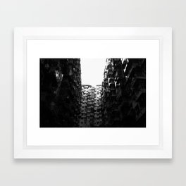 :: Hong Kong Flats :: Framed Art Print