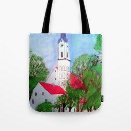 Kirche von Ergolding Tote Bag