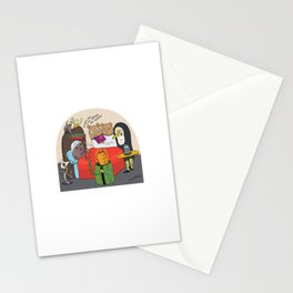 the sinner´s deadbed Stationery Cards