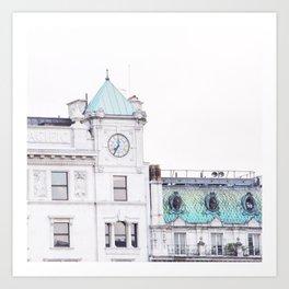 London Green  Art Print