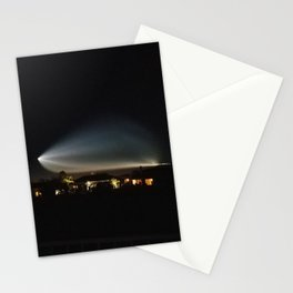SpaceX rocket launch 12.22.17 Stationery Cards