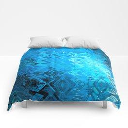Edged Momentum (blue) Comforters