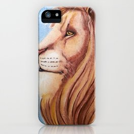 Lion of the Tribe of Judah iPhone Case