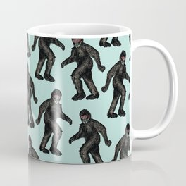 Sasquatch Sighting   Bigfoot Encounter Pattern   Wild Animals Coffee Mug