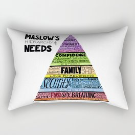 Maslow's Hierarchy of Needs II Rectangular Pillow