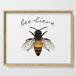 Bee-lieve Serving Tray