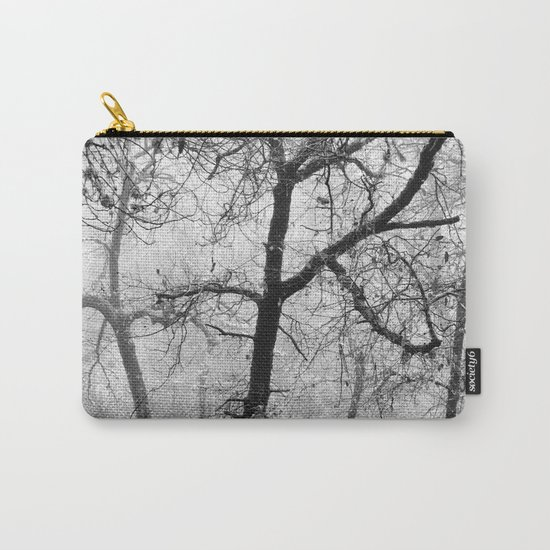 """""""Into the woods III"""". Foggy forest Carry-All Pouch"""
