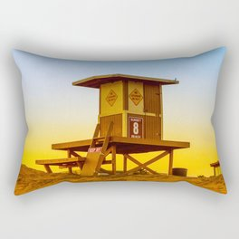 lifeguard tower Rectangular Pillow