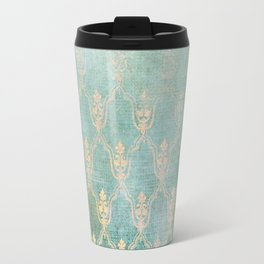 Damask Vintage Pattern 02 Travel Mug