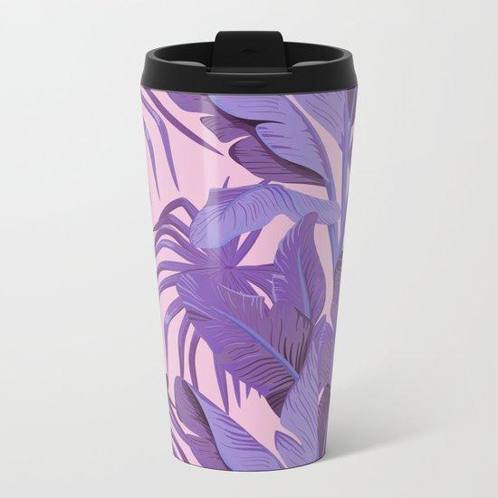 Tropical '17 - Starling [Banana Leaves] Metal Travel Mug