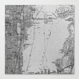 Florida Map Canvas Prints Society6