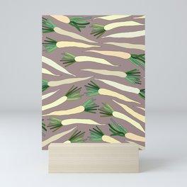 Daikon Radish Carrot Roots Mini Art Print