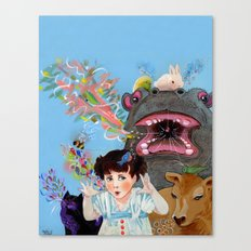 Many Voices Canvas Print