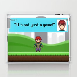 It's not just a Game! [Male Version 1] Laptop & iPad Skin