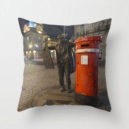 Porto Postie Throw Pillow