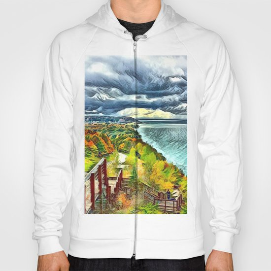 Stairs to Paradise (Water and Landscape) Hoody