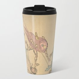 Kyōsai's Pictures of One Hundred Demons (Kyōsai hyakki gadan) Travel Mug