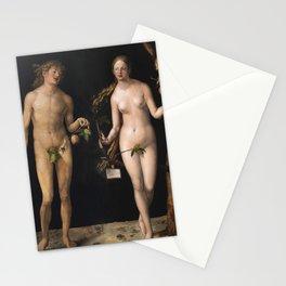 Albrecht Durer - Adam And Eve Stationery Cards