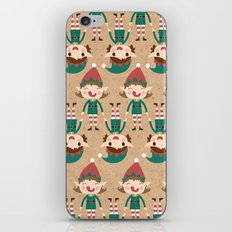 Day 17/25 Advent - Santa's Slaves I iPhone & iPod Skin