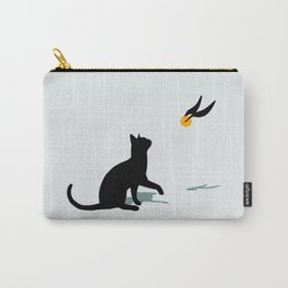 Cat and Snitch Carry-All Pouch
