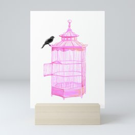Brooke Figer - PRETTY smart BIRD Mini Art Print