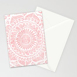 Blush Lace Stationery Cards