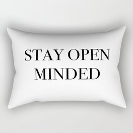 STAY OPEN MINDED Rectangular Pillow