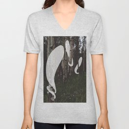 Ghosts In The Woods Unisex V-Neck
