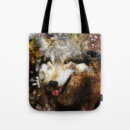 Wolf Art Tote Bag