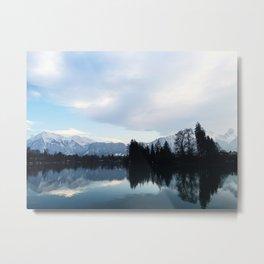 The Swiss Alps Metal Print