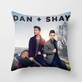 DAN + SHAY LIVE TOUR DATES 2020 BAUKENCUR Throw Pillow