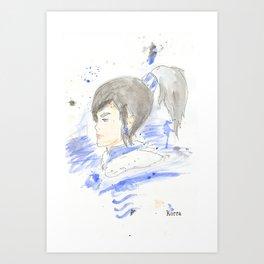 Legend of Korra - Korra Watercolour Art Print