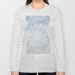 pastel lace design Long Sleeve T-shirt