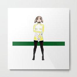 Baby K Metal Print