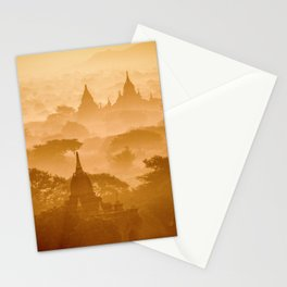 Zen moments dreamy pink landscape (Asia travel) - Fine Art Print colorful Stationery Cards