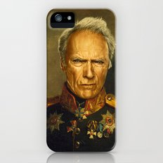 Clint Eastwood - replaceface iPhone (5, 5s) Slim Case