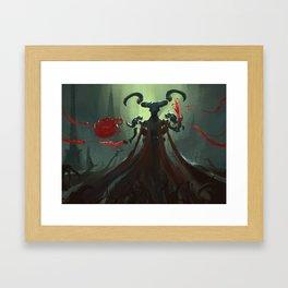 Aima, The Blood Siphon Framed Art Print