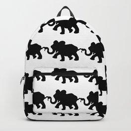 Elephant Walk B&W Backpack