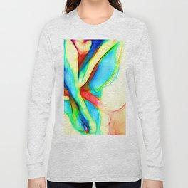 Womans`lap Long Sleeve T-shirt