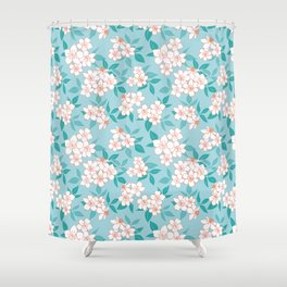 Hellebores Shower Curtain
