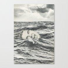 Going Under Canvas Print