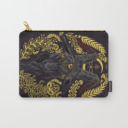 Black Goat of the Woods Carry-All Pouch