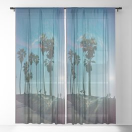 The solo surfer Sheer Curtain