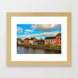 Kilkenny Ireland skyline Framed Art Print