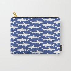 School of Sharks Blue Ocean Carry-All Pouch