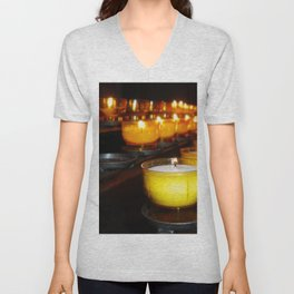 Church Candles Unisex V-Neck
