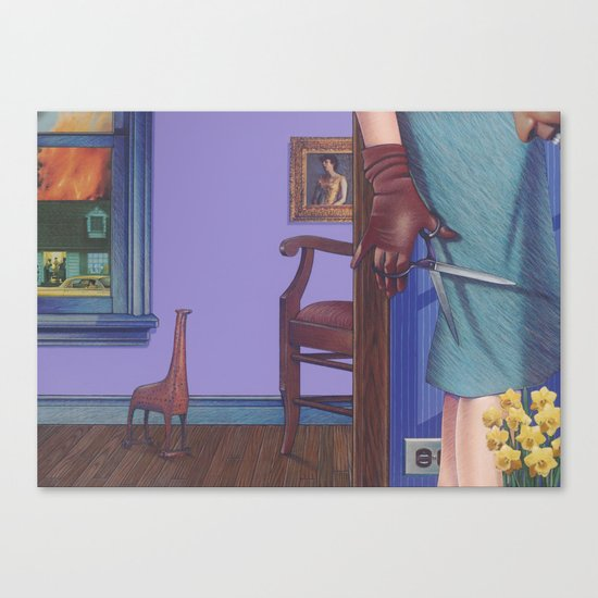 another sad story Canvas Print