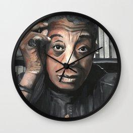 James Baldwin Drawings Icon Portrait Wall Clock